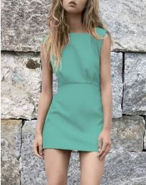 Фустан - код 1233 - тиркизна