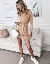 Фустан - код 7846 - кремова