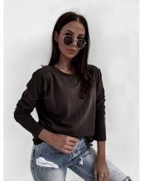 Блуза - код 5582 - црна