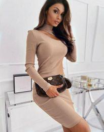Фустан - код 11441 - кремова