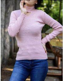 Блуза - код 5191 - розова
