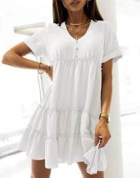 Фустан - код 7205 - бело