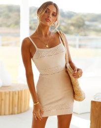 Фустан - код 10099 - кремова