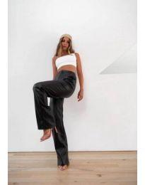 Дамски панталон в черно - код 22555