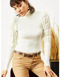 Блуза - код 0737 - бело