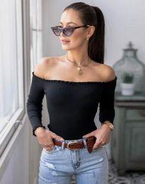 Блуза - код 0277 - црна