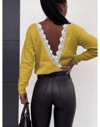 Блуза - код 6050 - окер