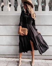 Фустан - код 6522 - црна