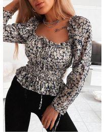Блуза - код 0788 - црна