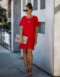 Фустан - код 4408 - црвена