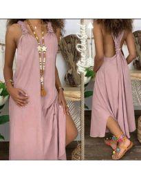 Фустан - код 9597 - розова