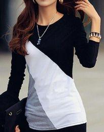 Блуза - код 9304 - 1 - шарено