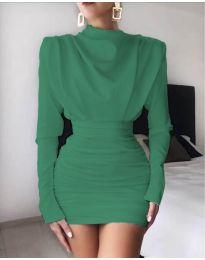 Фустан - код 8257 - зелена