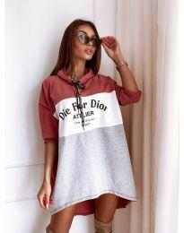 Фустан - код 9090-1 - шарено
