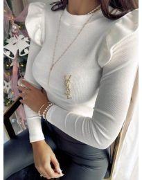 Блуза - код 0142 - бело