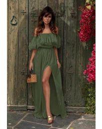 Фустан - код 3336 - путер зелена