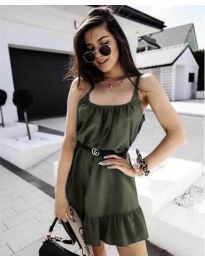 Фустан - код 7768 - путер зелена