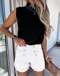Кратки панталони - код 6815 - бело