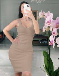 Фустан - код 10122 - кафеава