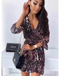 Фустан - код 7677 - 1 - шарена