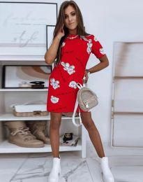 Фустан - код 2906 - црвена