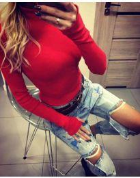 Блуза - код 5256 - црвена