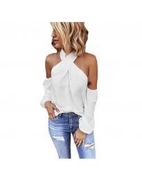 Блуза - код 6568 - бела