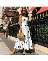 Фустан - код 7011 - бело