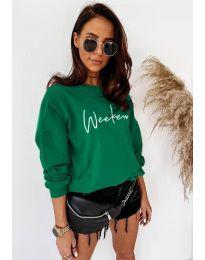 Блуза - код 917 - зелена