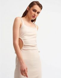 Фустан - код 1272 - бело