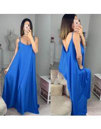 Фустан - код 6600 - темно сина