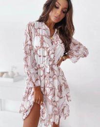 Фустан - код 2550 - шарена
