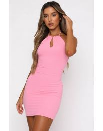 Фустан - код 11936 - розова
