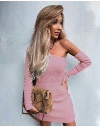 Фустан - код 4933 - розова