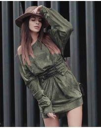 Фустан - код 8989 - зелена