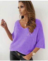 Блуза - код 901 - виолетова