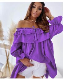 Фустан - код 9865 - виолетова