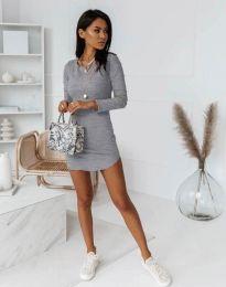 Фустан - код 8856 - сиво
