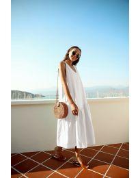 Фустан - код 8810 - бело