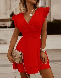 Фустан - код 5654 - црвена