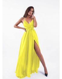 Фустан - код 5500 - жолта