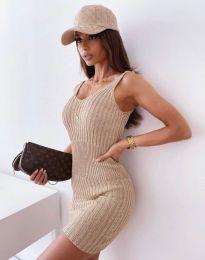 Фустан - код 10088 - капучино