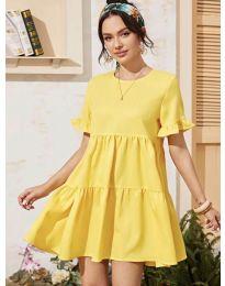 Фустан - код 0033 - жолта