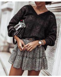 Блуза - код 137 - црна
