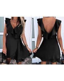 Фустан - код 7799 - црна