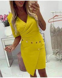 Фустан - код 415 - жолта