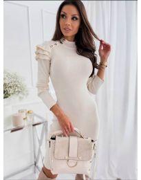 Фустан - код 2915 - 2 - бело