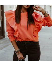 Блуза - код 3890 - праска