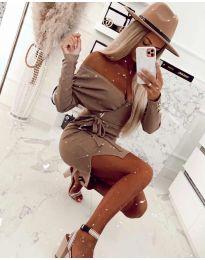 Фустан - код 2077 - кафеава
