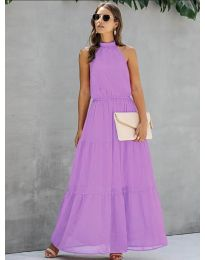 Фустан - код 8855 - виолетова